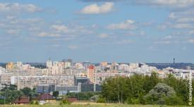 Левобережье и центр Белгорода