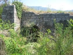 Остатки крепости Могрен