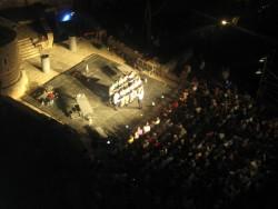 Театр под открытым небом в старой Будве