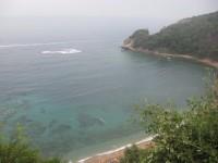 Вид на акваторию пляжа Могрен