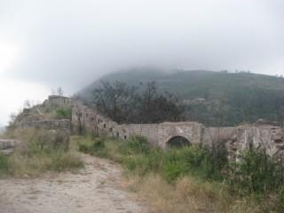 Развалины крепости Могрен