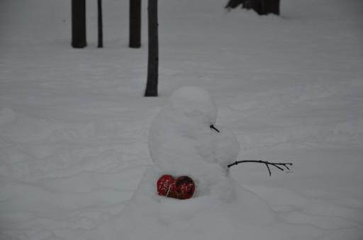 Снеговичок и сердце