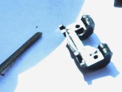 крышка разъемного узла вилки кронштейна с половиной цилиндрического гнезда