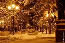 Снежный коридор