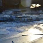 Замёрзшая речка Гостёнка