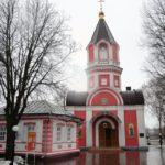 Крестовоздвиженский храм в Белгороде