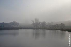 ТУман над устьем реки Гостёнка